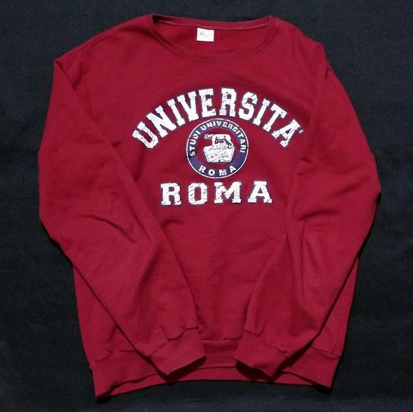 2168a031f Universita Roma Pullover Sweater. M_5a4360cd5521be0e0b087d71